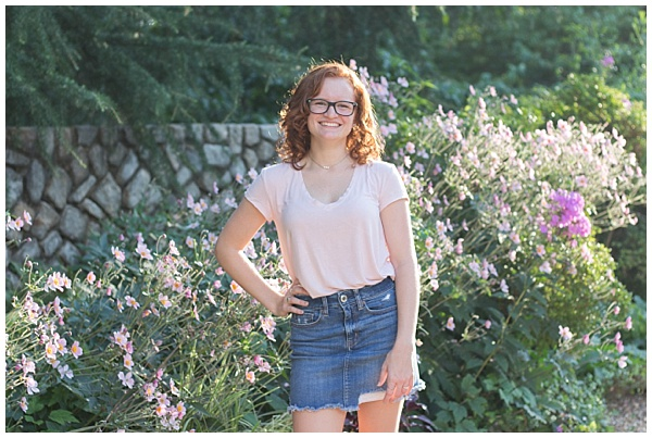 Samantha's Senior Session | Maymont Park