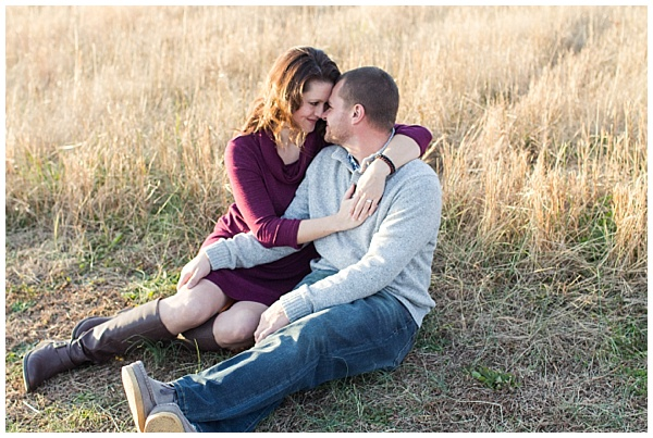 Mercy & Elliotte's Fall Engagement Session